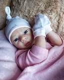 autentica bebe reborn disponible - foto