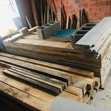 madera de pino para encofrado 100 /m - foto