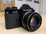 Rolleiflex sl 35 planar 50mm  1.8 - foto