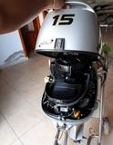MOTOR HONDA 15CV 7HORAS DE USO - foto