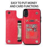 Funda protectora Iphone X y XS roja - foto