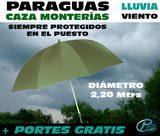 Paraguas verde 2,20 metros - foto