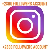 Cuenta Instagram barata +2800 seguidores - foto