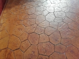 concret flooring - foto