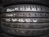 Neumatico High Performance225-40-18.92.W - foto