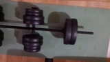 Kit fitness con banco de press 160kg. - foto