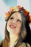 Coronas de flores, diademas y tiaras - foto