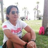 Entrenadora personal fitness - foto