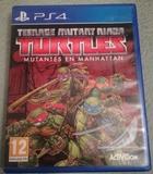 Turtles mutantes en Manhattan, PS4 - foto