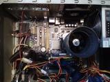 Placa base +procesador+disipador - foto