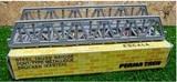 Puente metálico tren N - foto