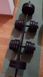 Kit fitness con banco de press 160kgs - foto