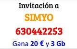 Hazte de Simyo ganando 20 euros y 3 GB - foto