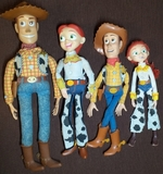 Disney pixar toy story buzz woody jessie - foto