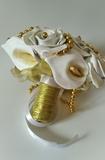 """Bouquete artificiales \\\""""Gold\\\"""" - foto"""
