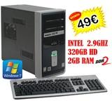 COMPAQ SR1000  INTEL  2GB  320HD  WIN7 - foto