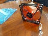 Ventilador pc NOX Coolfan  12CM LED ROJO - foto