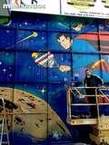 Graffiti decoracion - foto