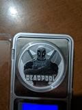 1 Onza de Plata Pura Marvel Deadpool - foto