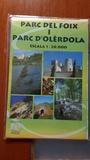 mapa Parc del foix i parc D\'OLÈrdola - foto
