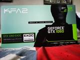 Tarjeta Nvidia 1060 6 gb KFA 150 - foto