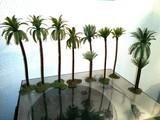 vintage Lote palmeras maquetas - foto