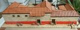 Maqueta de casa romana - foto