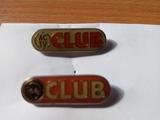 Lote de 2 pins discoteca ACTV originales - foto
