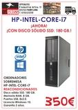 hp-intel-core-i7 con disco sólido ssd. - foto