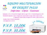 Multifuncion hp deskjet f4210 - foto