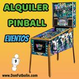 Alquiler de pinball para fiestas vintage - foto
