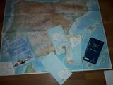 Cartas de vuelo y mapas - foto