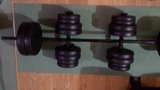 Kit de fitness con 50 Kgs discos. - foto