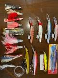 lote señuelos pesca altura - foto