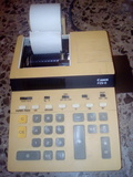 Calculadora antigua modelo canon p25-d - foto