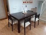 MIL ANUNCIOS.COM - Mesa comedor y sillas. Muebles mesa ...