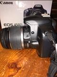 Cámara reflex Canon EOS 450D - foto