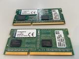 Kingston RAM 4Gb. DDR3 1067MHz. Mac/PC - foto