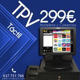 TPV TACTIL  BAR PROGRAMA SIN CUOTAS - foto
