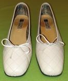 Zapatos crema n°40 -antonio parriego - foto