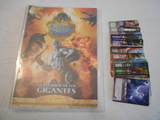 archivador fantasy riders y 48 cartas - foto
