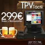 TPV TACTIL CON PROGRAMA BAR-COMERCIOS - foto
