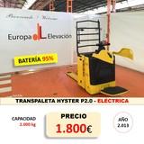 TRANSPALETA EU HYSTER 2. 0 ++ BATERÍA 95% - foto