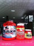 proteína creatina y regalo aminoacidos - foto