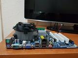 Asrock g31m-s+e7300+disipador+4gb ram - foto