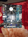 placabase Gigabyte soket775,DDR3+ Q6600 - foto