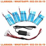 s8G  5 BateriasDrone Syma + Cable - foto