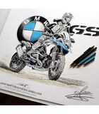 CAMISETA BMW R1200GS - foto