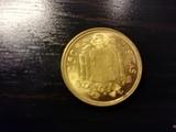 Moneda de 2,50 pesetas 1953. - foto
