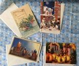 Postales,crismas, diptico, - foto